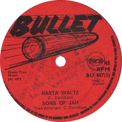 Sons Of Jah - Rasta Waltz