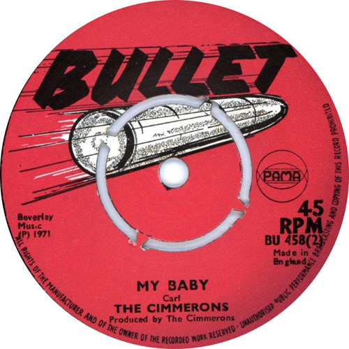 The Cimarons - My Baby