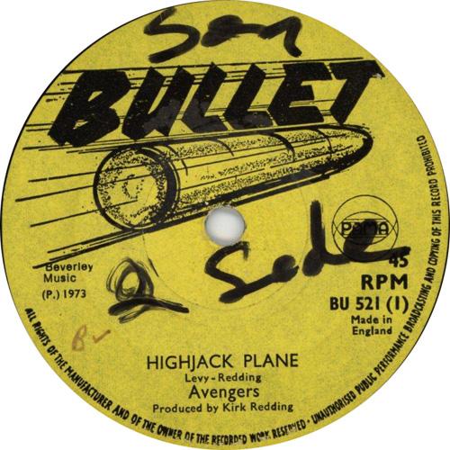 The Avengers - Hi-Jack Plane