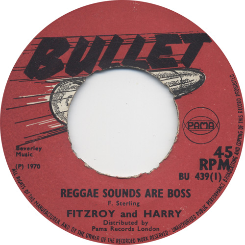 Fitzroy And Harry - Reggae Sounds Are Boss