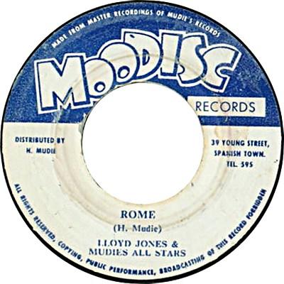 Lloyd Jones - Rome