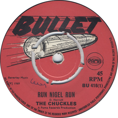 The Chuckles - Run Nigel Run