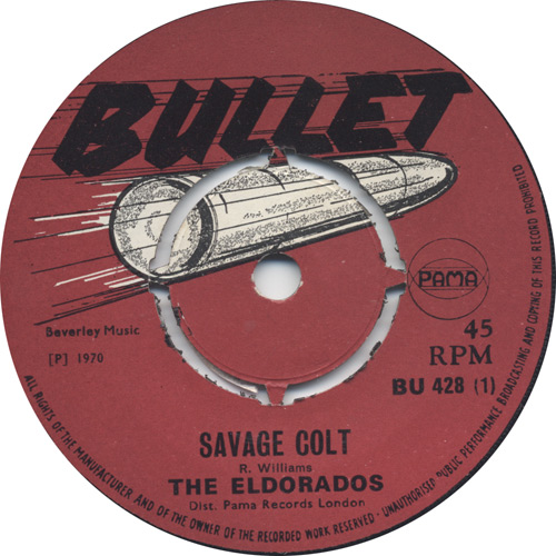 The Eldorados - Savage Colt
