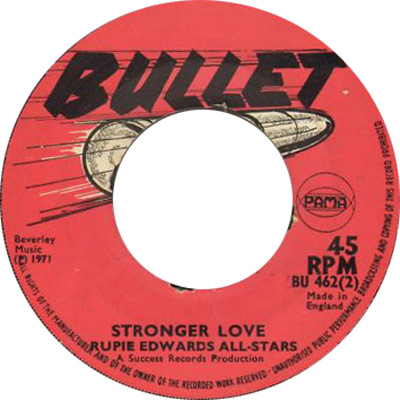 Rupie Edwards\' All Stars - Stronger Love