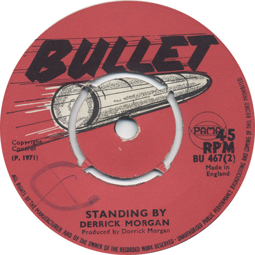Derrick Morgan - Standing By