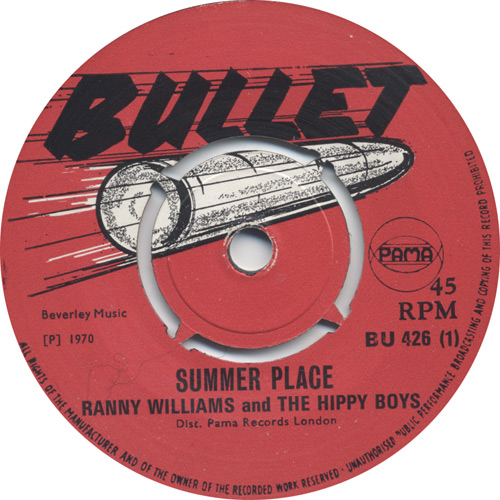 Ranny Williams And The Hippy Boys - Summer Place