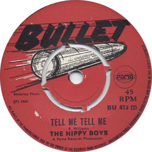 The Hippy Boys - Tell Me Tell Me