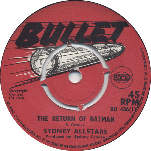 Sydney All Stars - The Return Of Batman