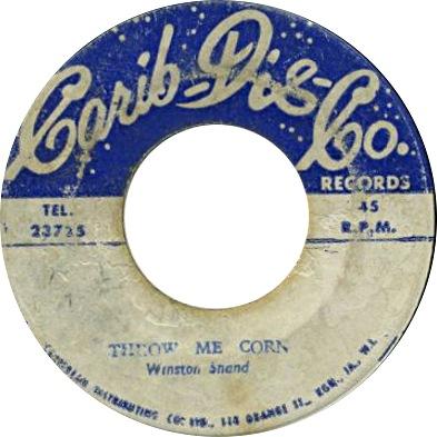 Winston Shand  - Throw Me Corn