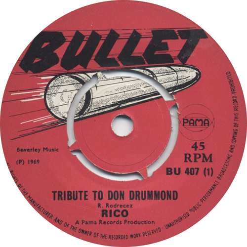 Rico - Tribute To Don Drummond
