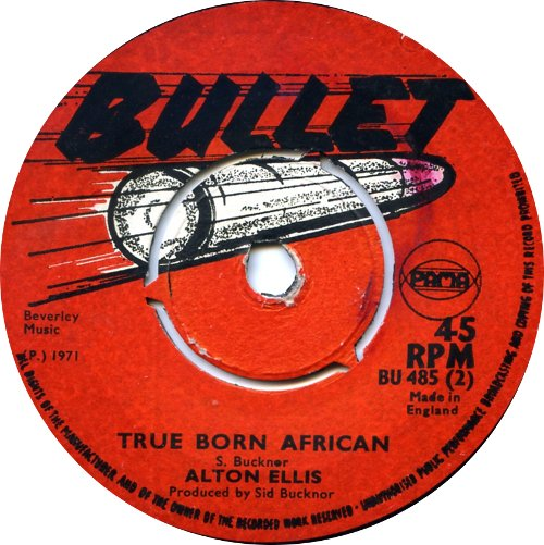 Alton Ellis - True Born African