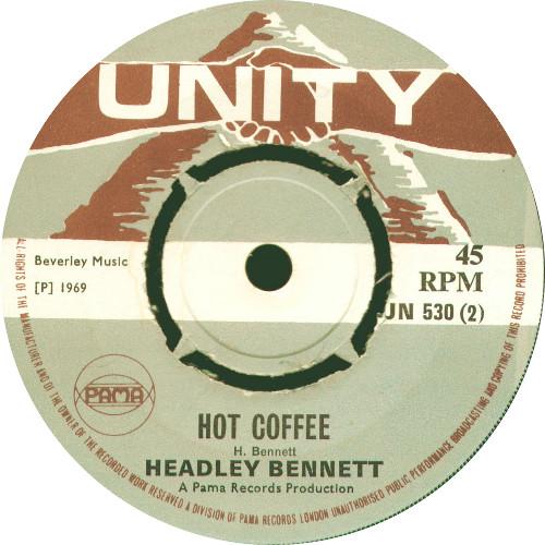 Headly Bennett - Hot Coffee