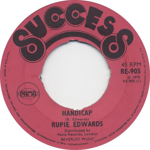 Rupie Edwards - Handicap