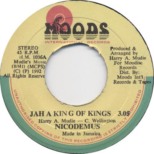 Nicodemus - Jah A King Of Kings