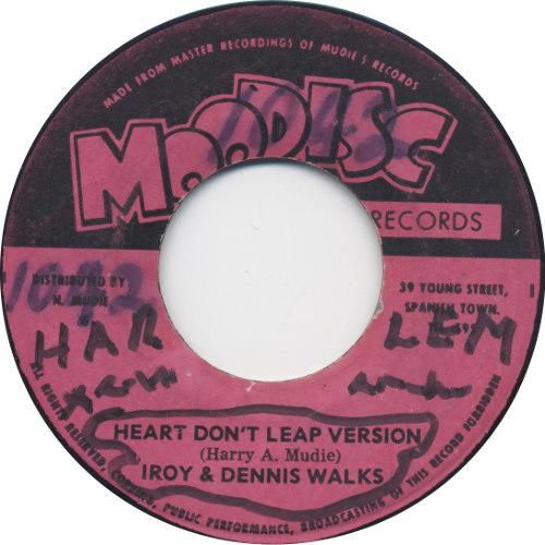 I Roy & Dennis Walks - Heart Don\'t Leap Version