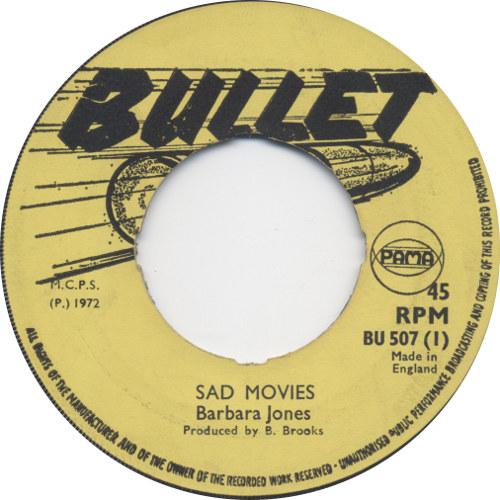 Barbara Jones - Sad Movies