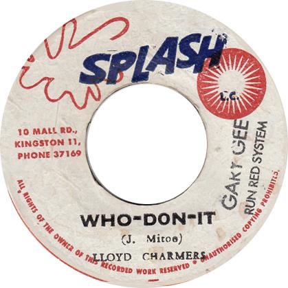 Lloyd Charmers - Who Don It