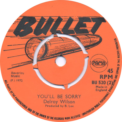 Delroy Wilson - You\'ll Be Sorry