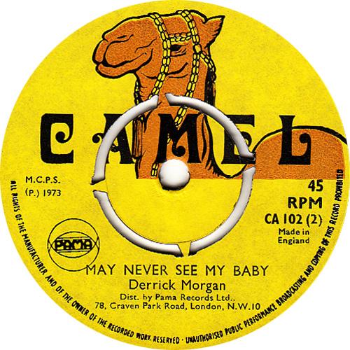Derrick Morgan – I May Never See My Baby