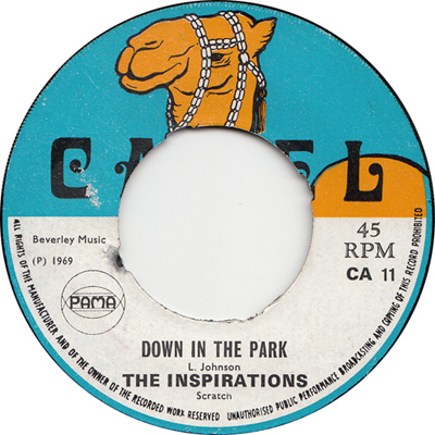 The Inspirations – Down In The Park