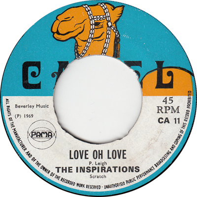 The Inspirations – Love Oh Love