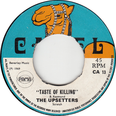 The Upsetters – Taste Of Killing
