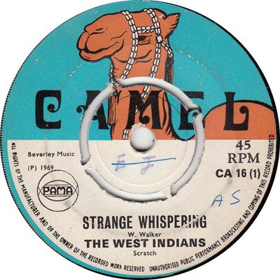 The West Indians – Strange Whispering