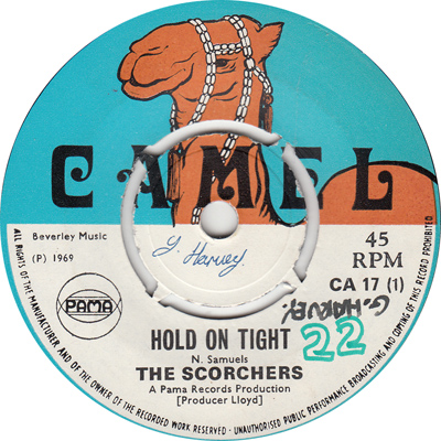 The Scorchers – Hold On Tight