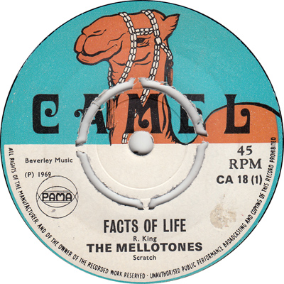 The Mellotones – Facts Of Life
