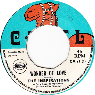 The Inspirations – Wonder Of Love