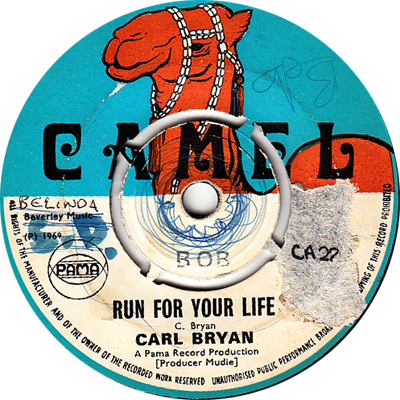 Carl Bryan – Run For Your Life