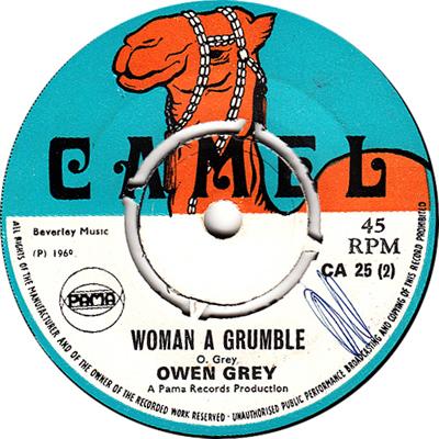 Owen Gray – Woman A Grumble