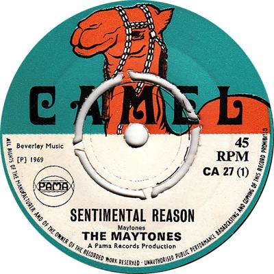 The Maytones - Sentimental Reason