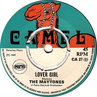 The Maytones - Lover Girl