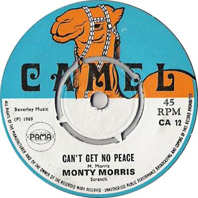 Monty Morris - Can\'t Get No Peace