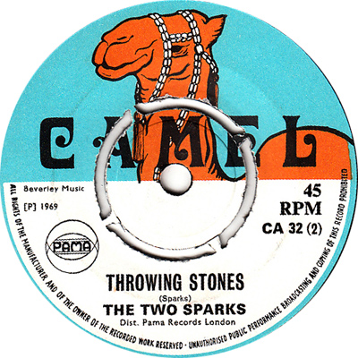 The Two Sparks - Throwing Stones