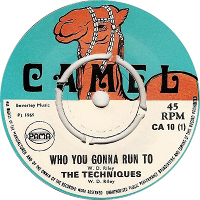 The Techniques - Who You Gonna Run To