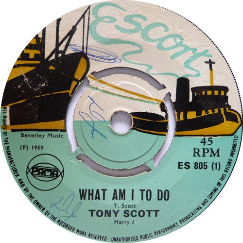 ES 805-1 Tony Scott - What Am I To Do