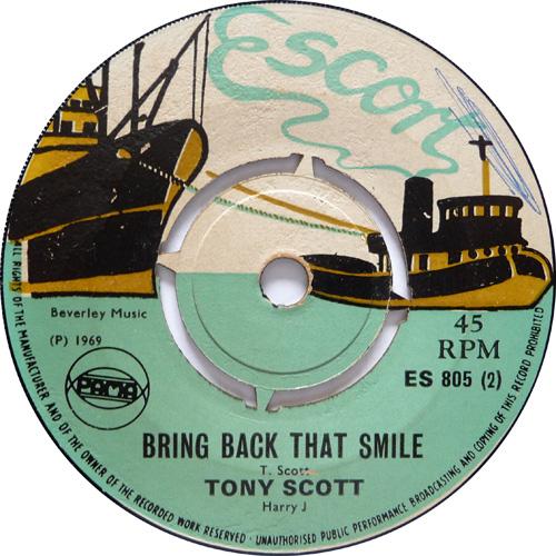 ES 805-2 Tony Scott - Bring Back That Smile