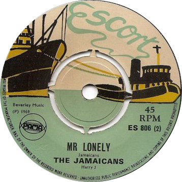 ES 806-2 The Jamaicans - Mr Lonely