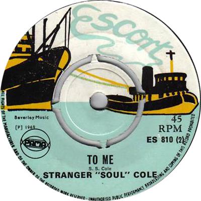 ES 810-2  Stranger Cole - To Me