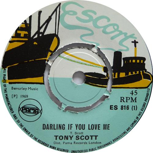 ES 816-1 Tony Scott - Darling If You Love Me