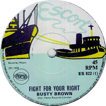 ES 822-1 Busty Brown - Fight For Your Right