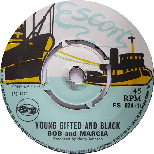 ES 824-1 Bob And Marcia - Young Gifted And Black