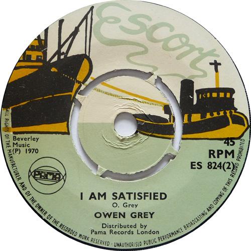 ES 824-2 Owen Gray - I Am Satisfied