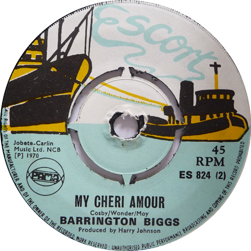 ES 824-2 Barrington Biggs - My Cheri Amour