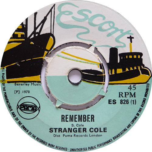 ES 826-1 Stranger Cole - Remember