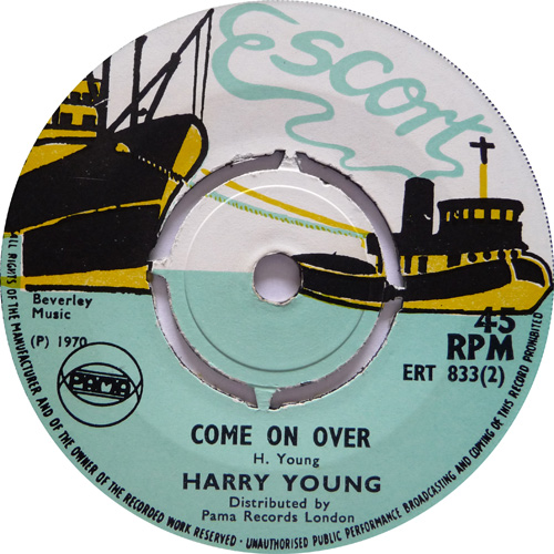 ERT 833-2 Harry Young - Come On Over