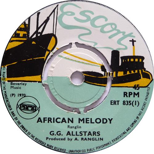 ERT 835-1 GG All Stars - African Melody