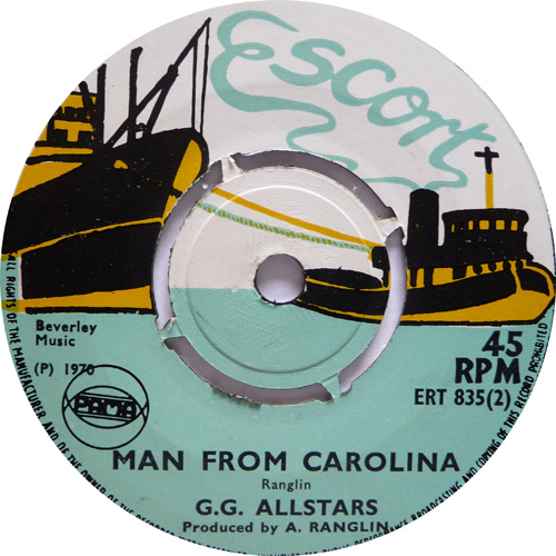 ERT 835-2 GG All Stars - Man From Carolina
